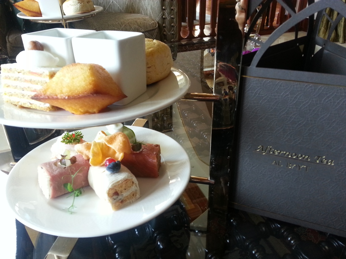 Traditional Afternoon Tea @ Al Bayt The Palace Downtown Dubai