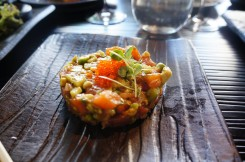 Tuna & Organic Salmon Tartare with Avocado - Just as good as I had tried it in Karma Kafe