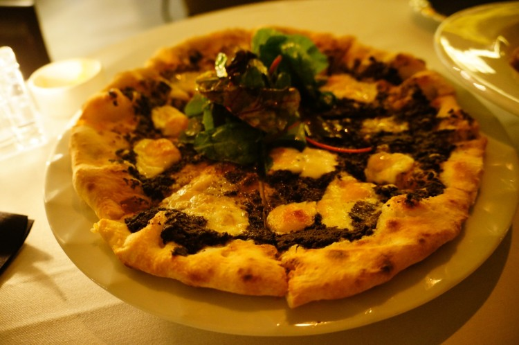 Truffle Pizza 75AED - Delicious!