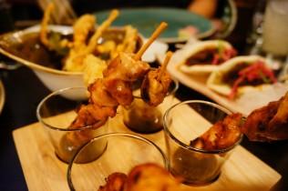 Chicken & Lychee Skewers - so tender