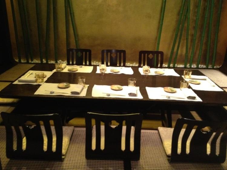 Miyako private tatami room
