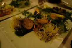 Warm Green Asparagus with Summer Truffle Sauce