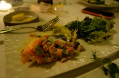 Parisienne Style King Crab - with summer vegetables - 105AED