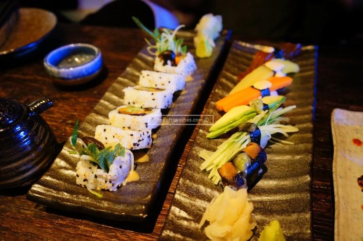 Vegetarian Sushi / Nigiri