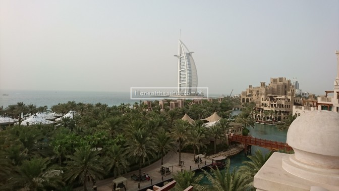 Our weekend away @ Al Qasr with a baby