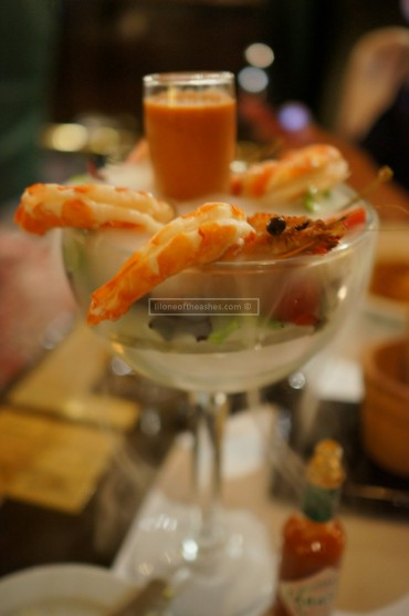 Iced Jumbo Prawn Cocktail ( AED 75 )