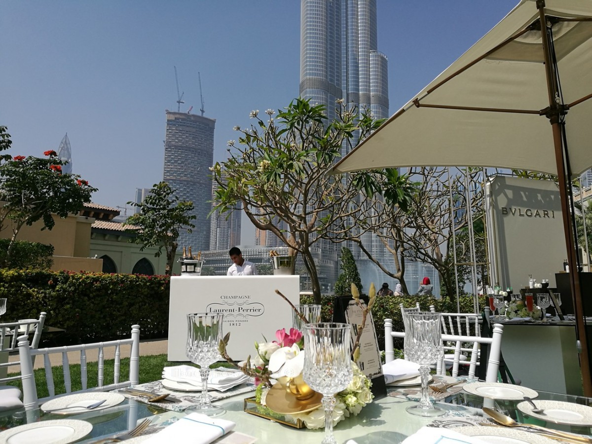 BVLGARI Afternoon Tea at Lakeside Garden @ The Palace Downtown Dubai