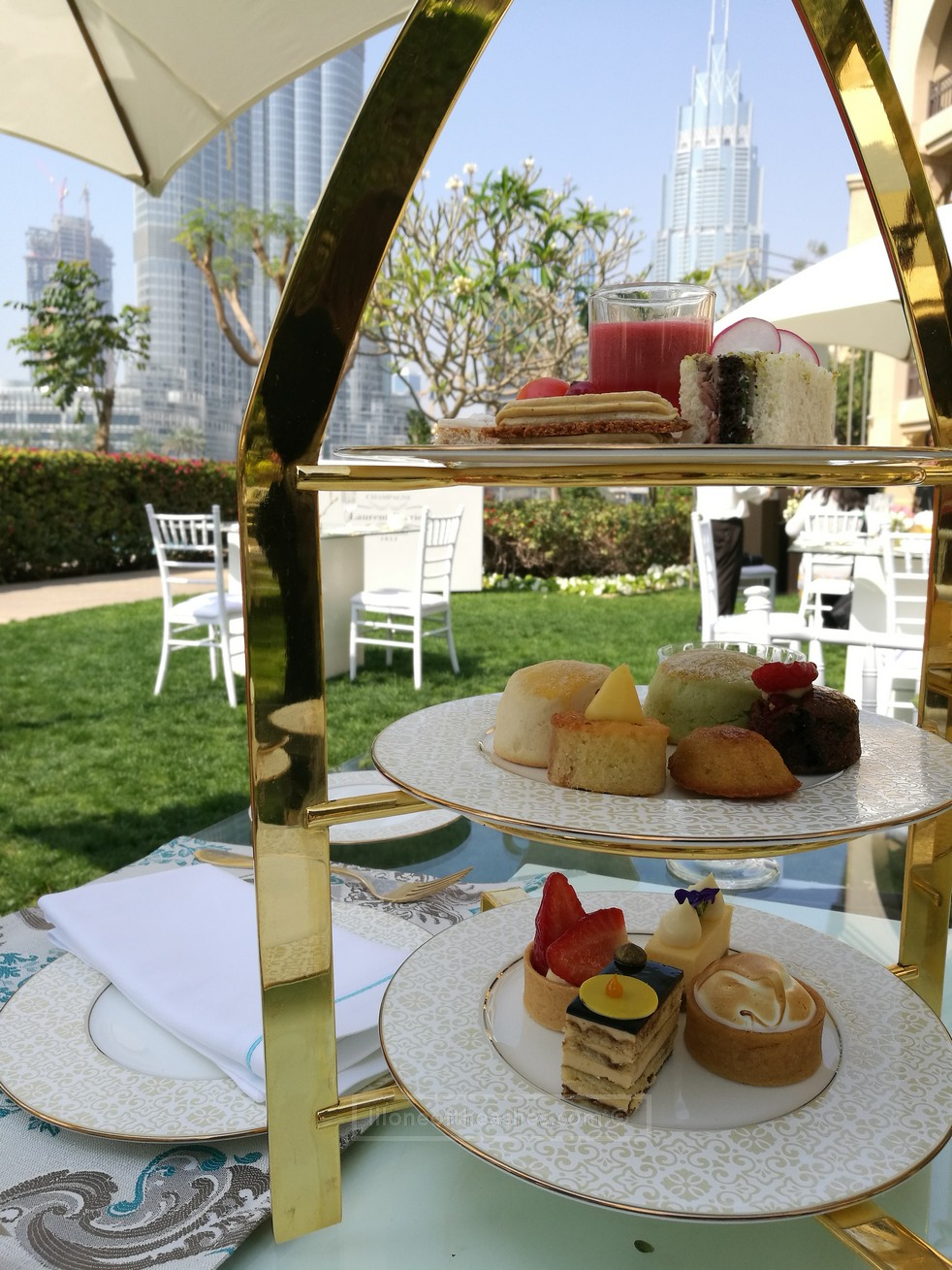 BVLGARI Afternoon Tea at Lakeside Garden @ The Palace Downtown