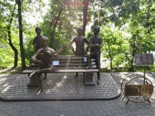 Beatles monument at Kok Tobe