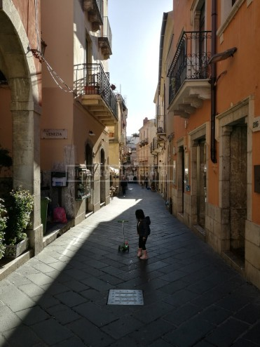 Early morning scootering through Corso Umberto