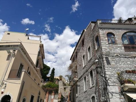 Blue skies, taken at around Piazza IX Aprile