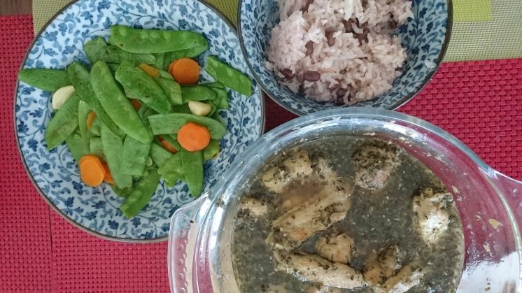Kachiama and Flat Beans